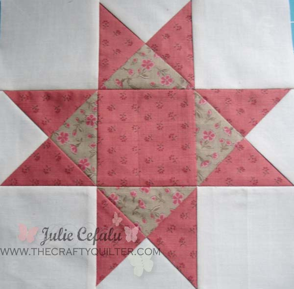 Quilt Patterns Quarter Square Triangles : Quarter-Square Triangle Tutorial - The Crafty Quilter