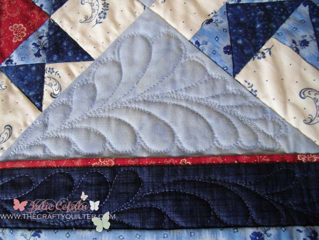 Adding A Flange To Your Quilt The Crafty Quilter