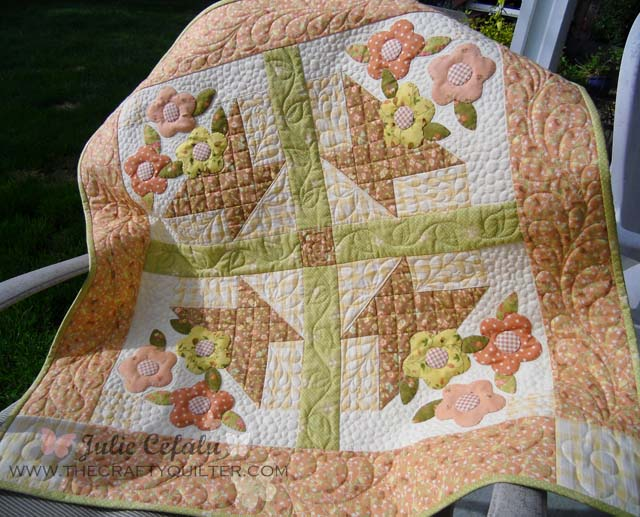 May Day Basket Tutorial @ The Crafty Quilter