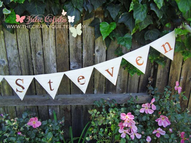 Wedding Shower Bunting