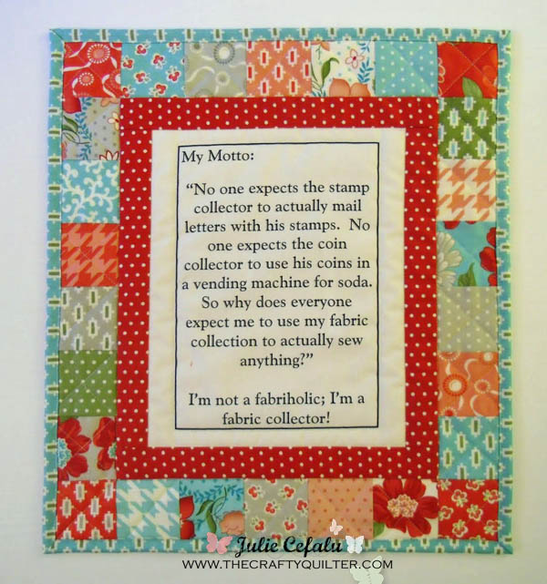 Tutorials The Crafty Quilter