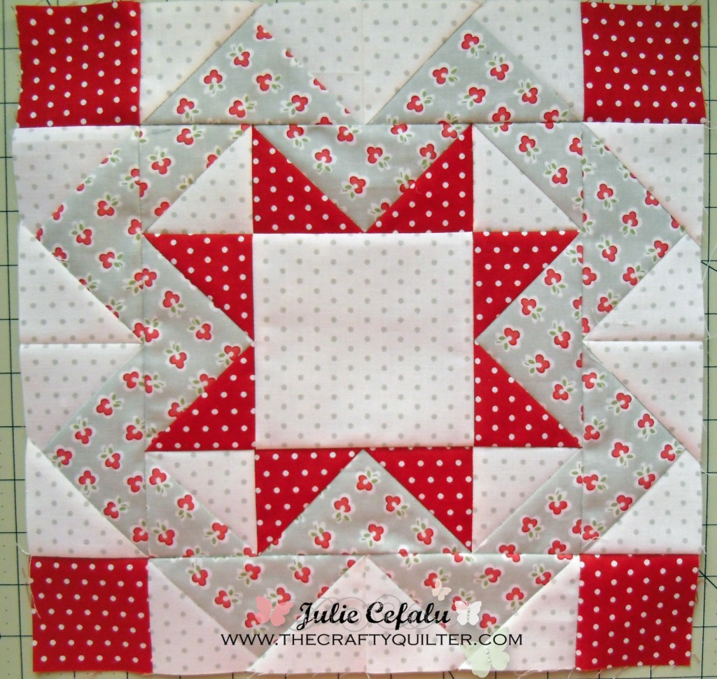 FQS Mystery BOM block 7 @ The Crafty quilter