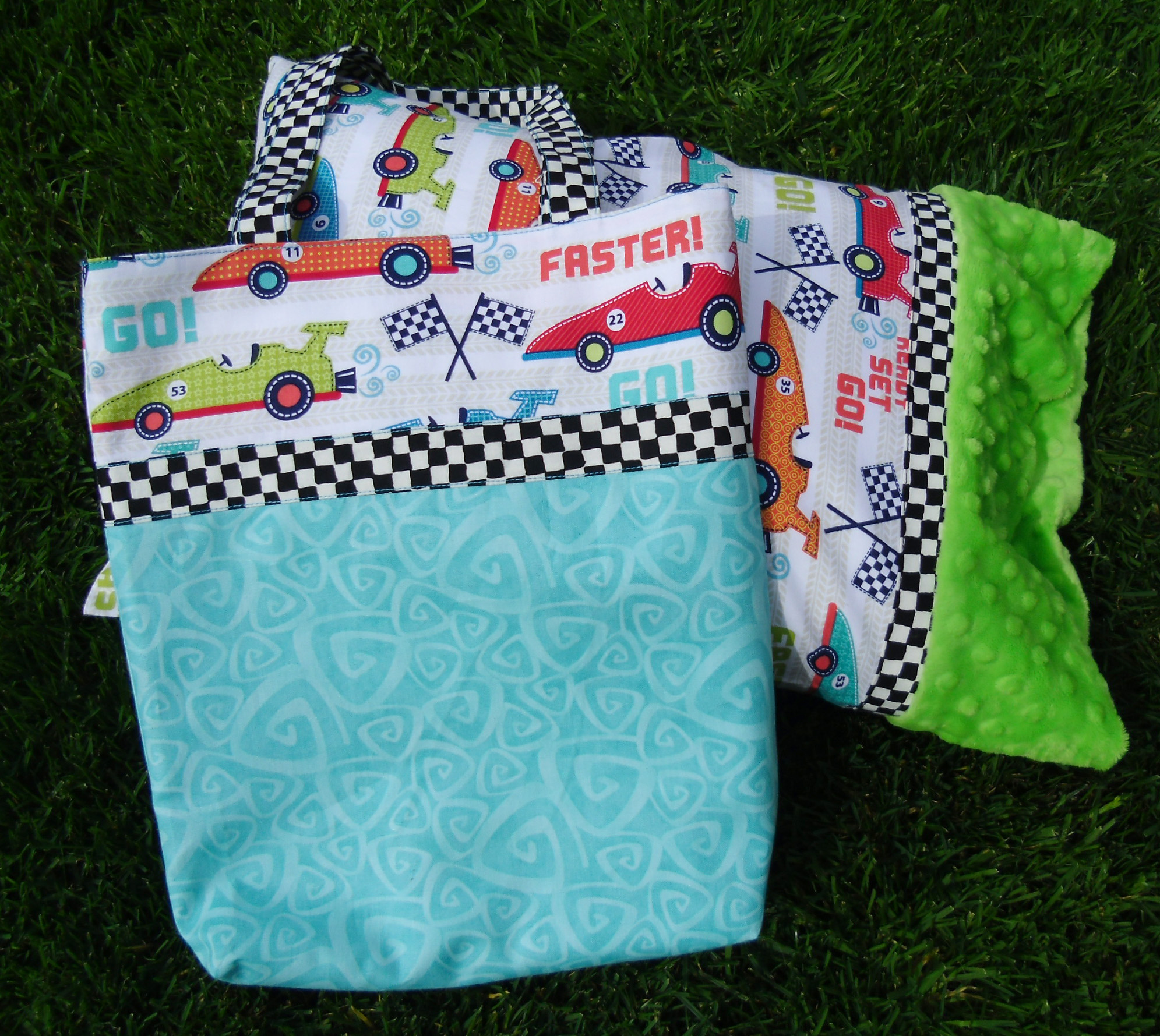 Travel size Pillow Case & Book Bag Tutorial