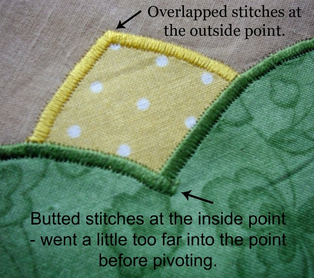 satin stitch detail top words