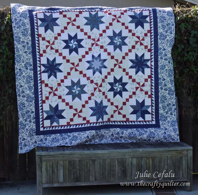 Oh my many stars quilt