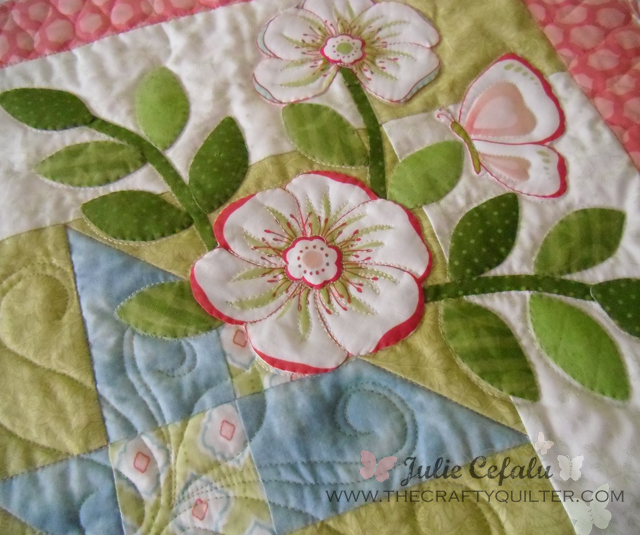broderie perse applique quilt