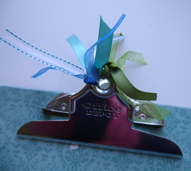 clipboard top ribbons
