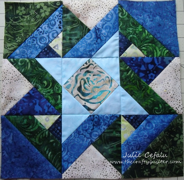 Tyler Rose Parade Quilt block