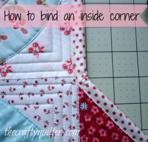 bind an inside corner