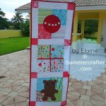 Christmas Door Banner by Summercrafter