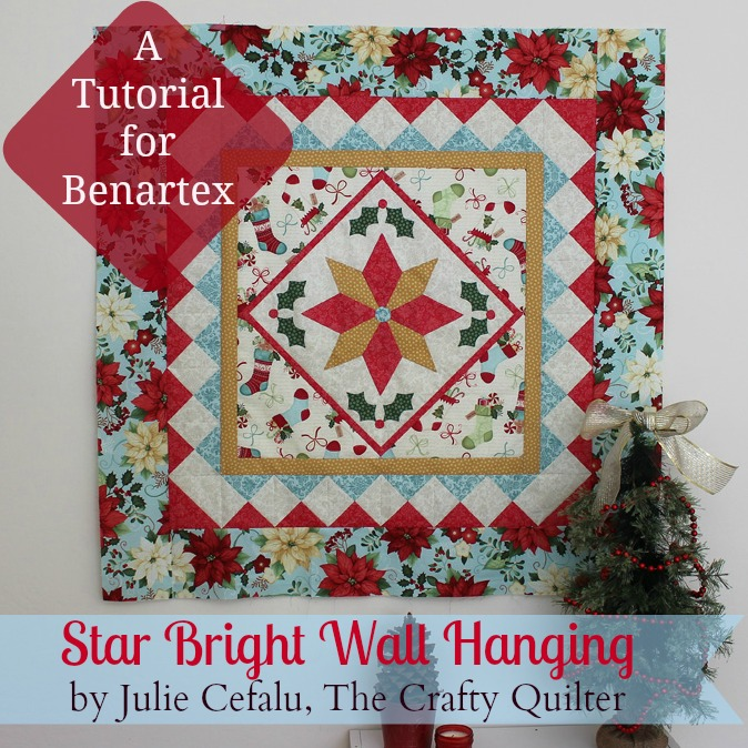 Christmas Wall Hanging by Julie Cefalu for Benartex