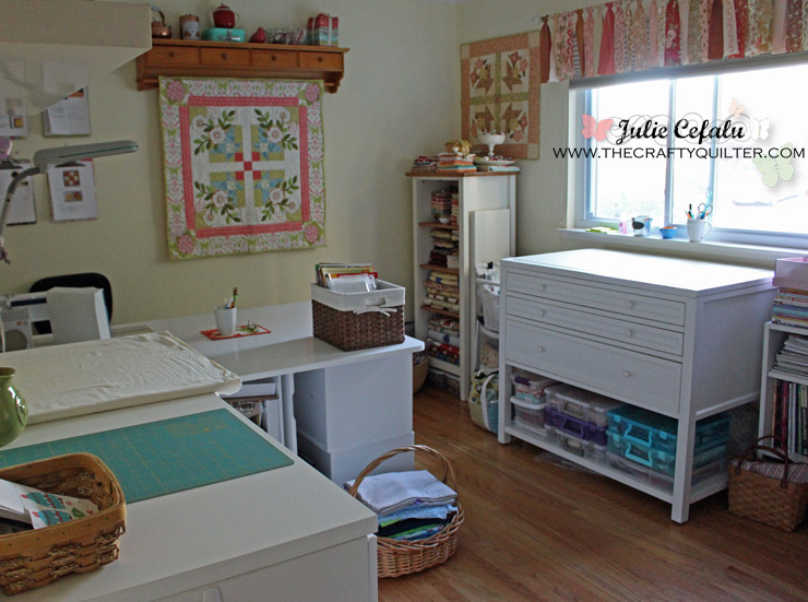 My Sewing Room @ The Crafty Quilter