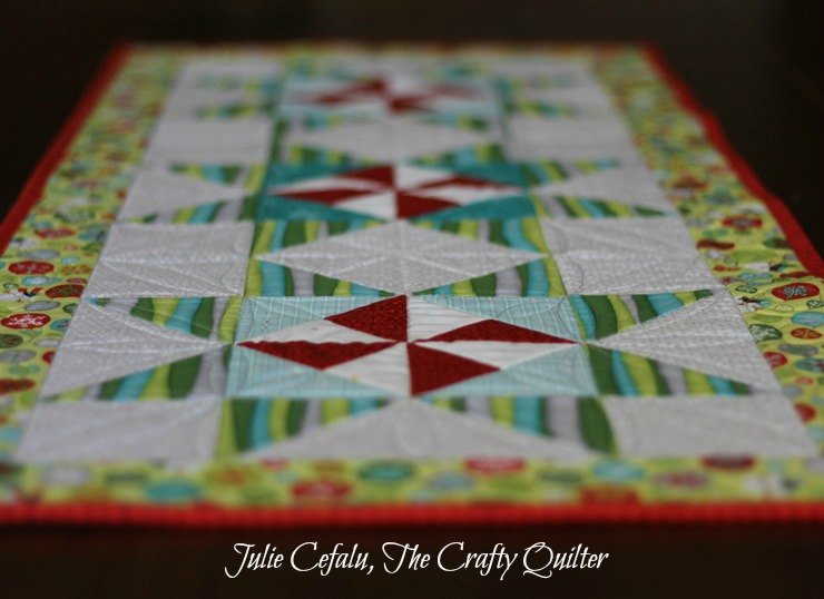 quilted table runner tutorial 2