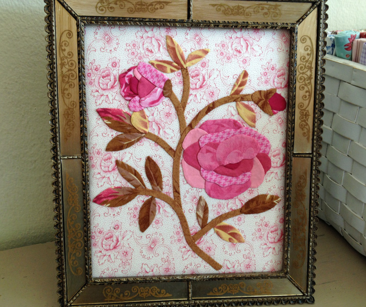 vernas framed rose