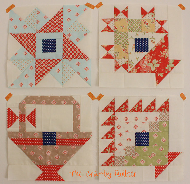 2013 Designer Mystery BOM from Fat Quarter Shop