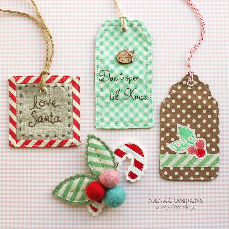 Christmas Once a Month - Handmade Gift Tags & More - The ...