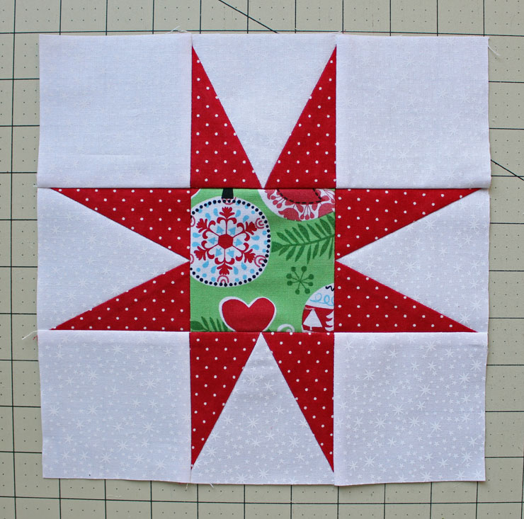 Christmas star finished