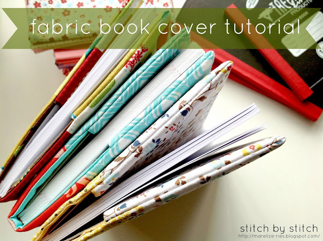 Fabric Book Cover How To ~ Sew thankful sunday the crafty quilter