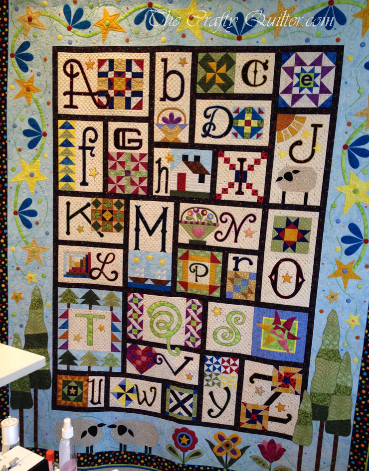 A-Z For Ewe and Me, designed and made by Janet Stone