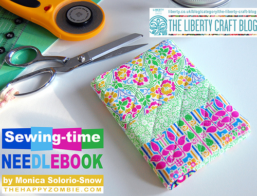 Sewing Time Needle Book Tutorial by The Happy Zombie