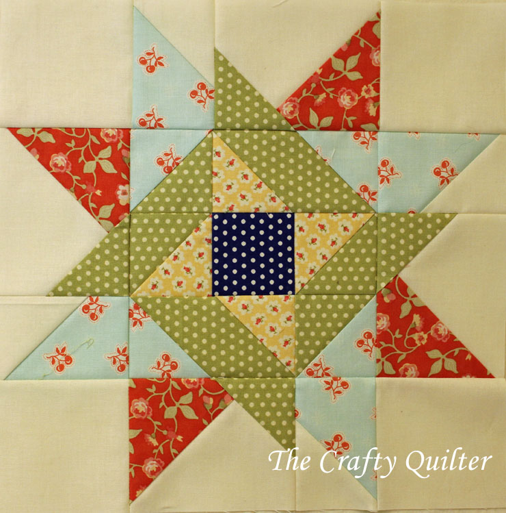 Block #6 of the FQS 2013 Designer Mystery BOM, made by Julie Cefalu