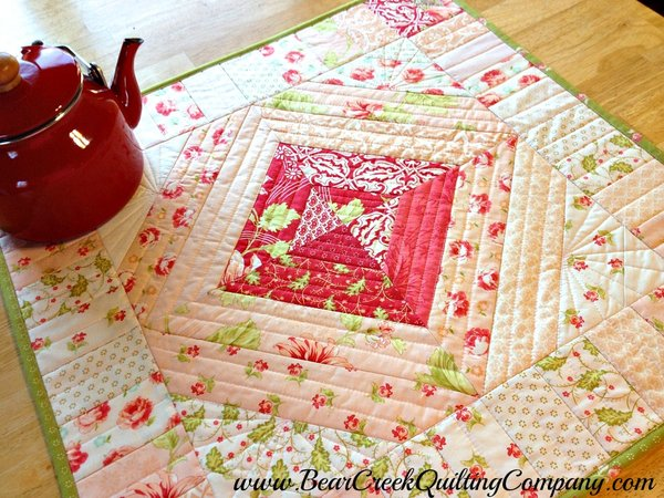 Honeysweet Table Topper Tutorial