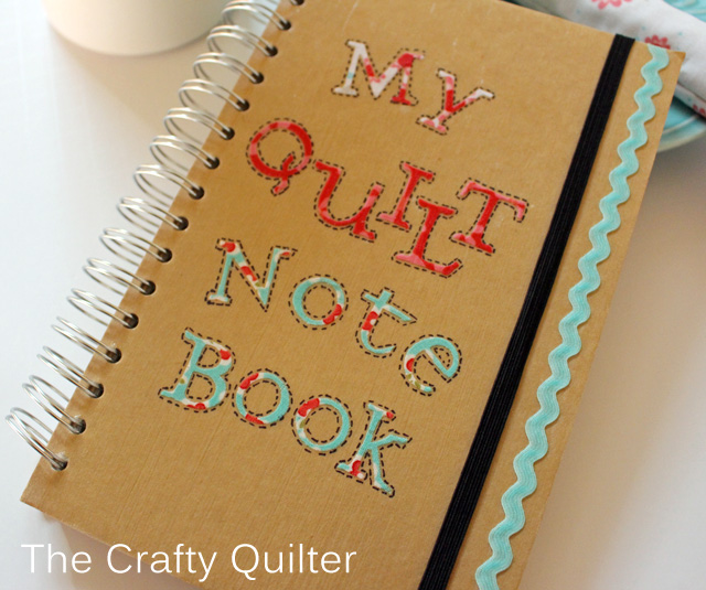 Quilter's Note Book @ The Crafty Quilter