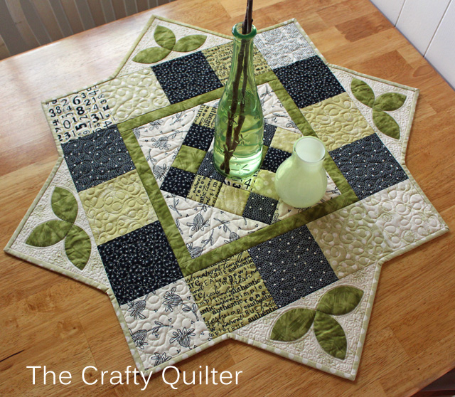 March Table Topper @ The Crafty Quilter