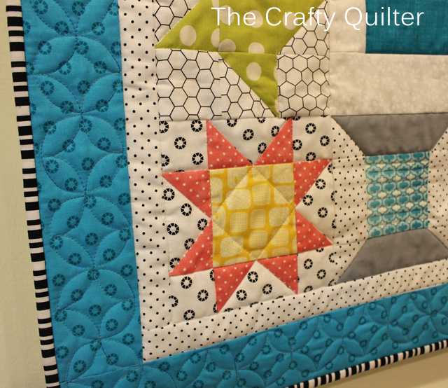 Love to Sew Quilt Detail by Julie Cefalu @ The Crafty Quilter