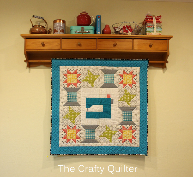 Love to Sew Quilt by Julie Cefalu @ The Crafty Quilter
