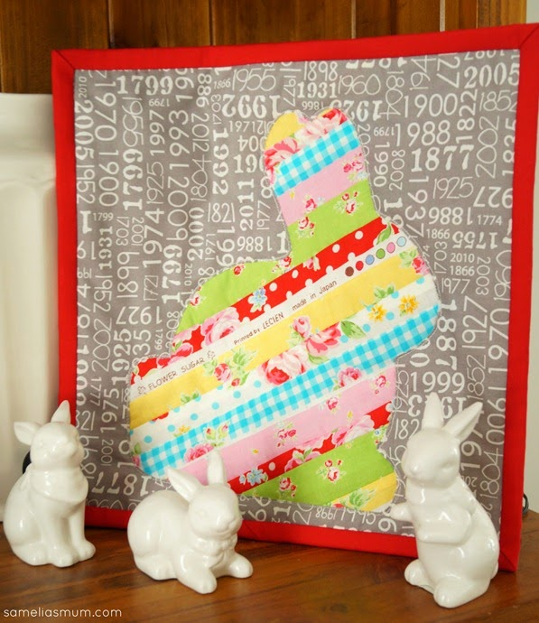 Scrappy Easter Bunny Mini Quilt_thumb[3]