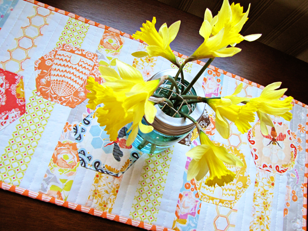 Sweet as Honey Table Runner