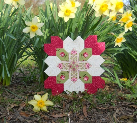 Patchwork of the Crosses by Jan at Sew and Sow Farm