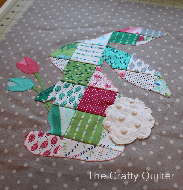 Patchwork Peter Rabbit Tutorial @ The Crafty Quilter