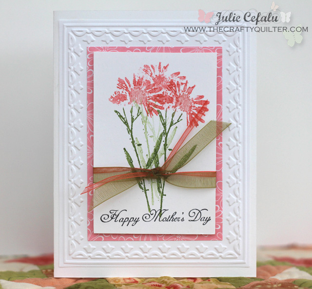 Mother's Day Card @ The Crafty Quilter