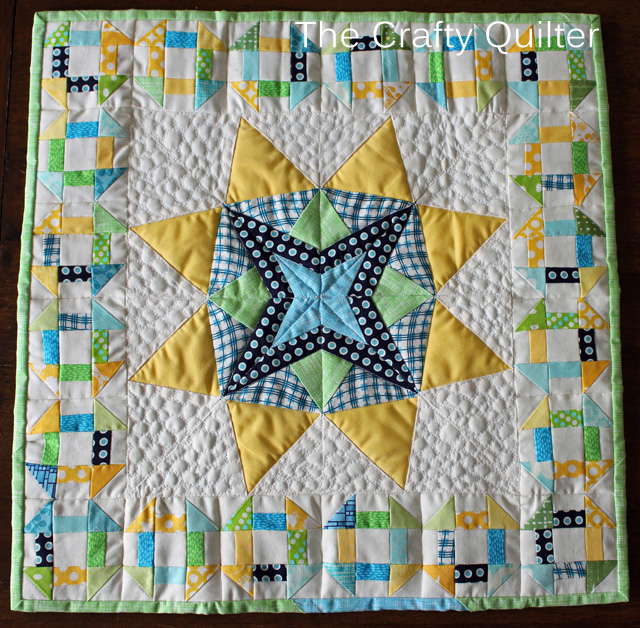 Mini Quilt by Sarah Oviatt for Schnitzel & Boo Mini Quilt Swap
