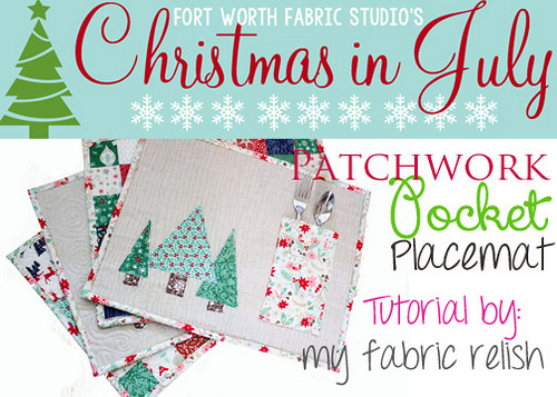 Patchwork Pocket Placemats