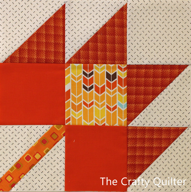 Maple Leaf Block @ The Crafty Quilter