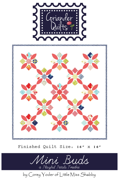 Mini Buds quilt pattern