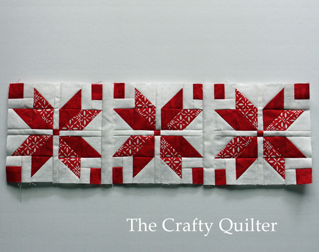 Nordic Mini QAL by Julie Cefalu @ The Crafty Quilter