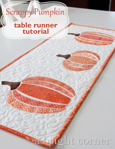scrappy pumpkin table runner tutorial 500[5]