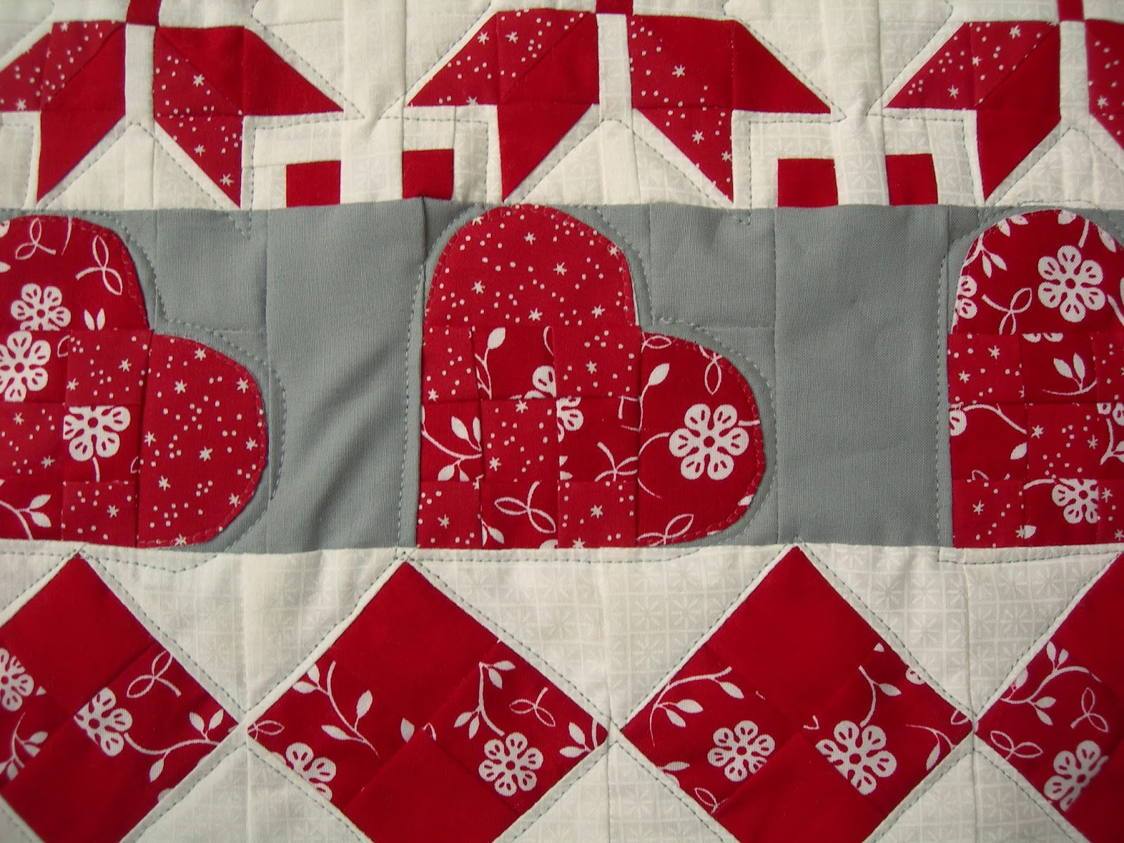 Simple Quilting by Susie @ Susie's Sunroom