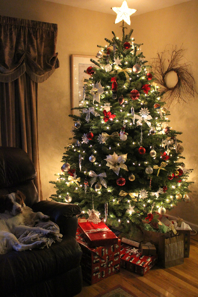 christmas tree 2014 @ The Crafty Quilter