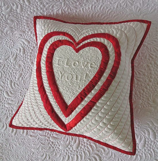 Free Valentine's Day Pillow Pattern