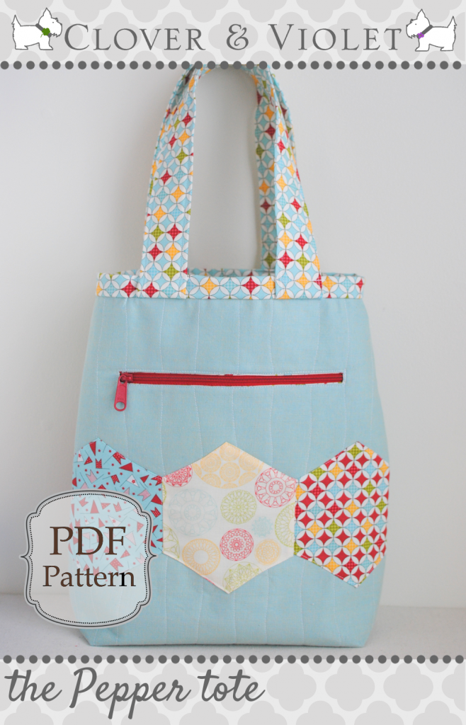 Pepper Tote Bag@ Clover & Violet