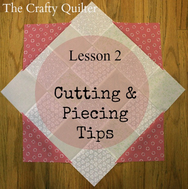Spring Petals QAL, Lesson 2 @ The Crafty Quilter
