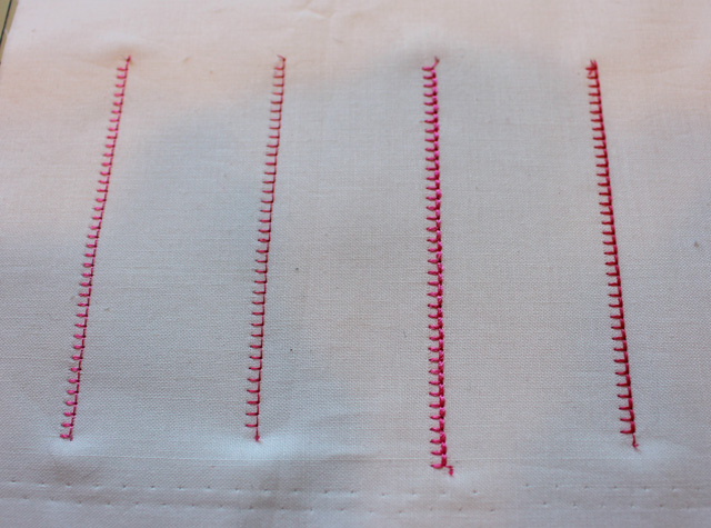 blanket stitch sample