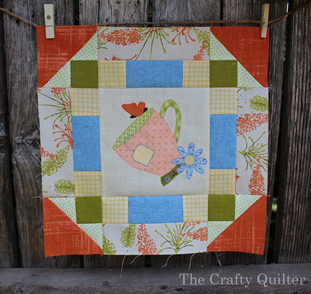 Cozy Afternoon BOM Block 3 by Julie Cefalu @ The Crafty Quilter
