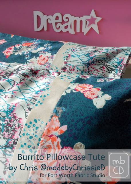 Burrito Pillow Case Tutorial