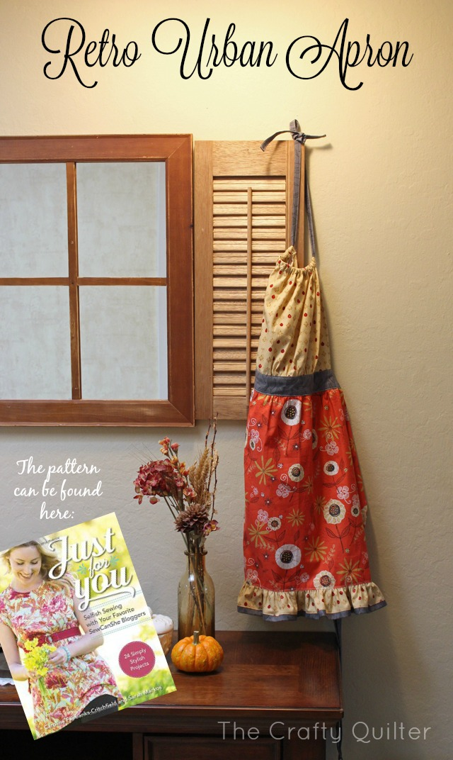 Retro Urban Apron by Julie Cefalu for Sew Can She
